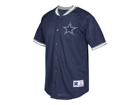 Dallas Cowboys Mesh Button Front Jersey