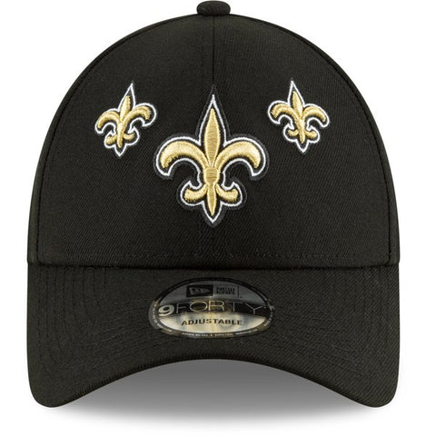 New Orleans Saints New Era 2019 NFL Draft On-Stage Official 9FORTY Adjustable - Hat – Black