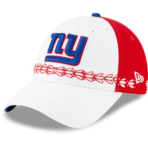 New York Giants New Era 2019 NFL Draft On-Stage Official 9FORTY Adjustable - Hat – White
