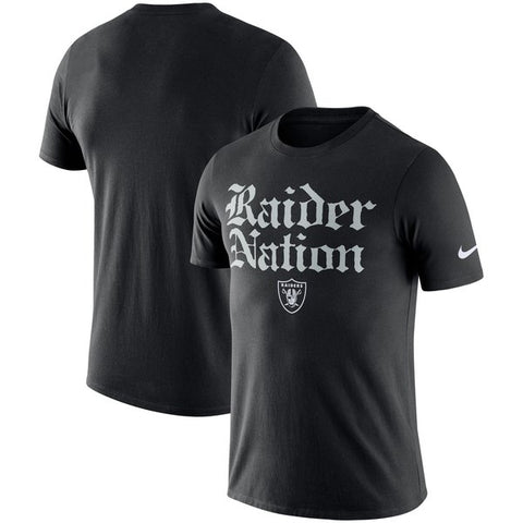 Oakland Raiders - Raider Nation T-Shirt