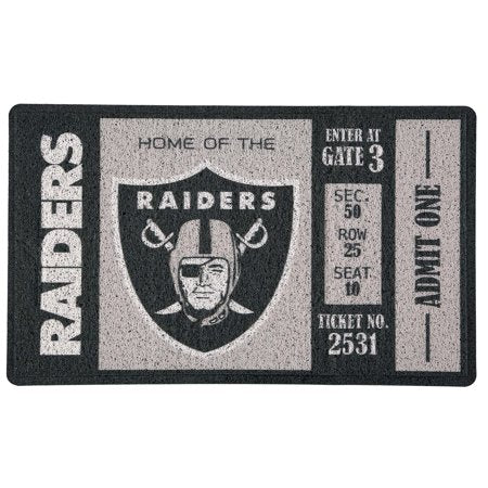 Oakland Raiders Turf Mat