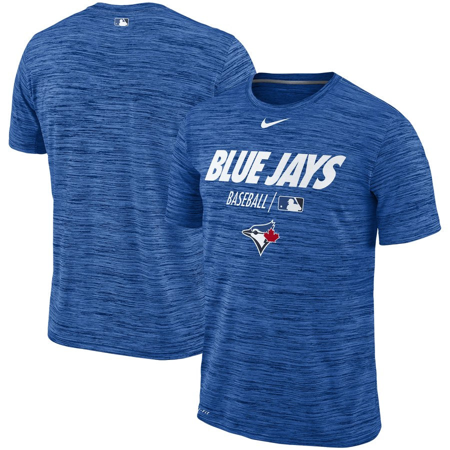 42a8e3c31 Men's Toronto Blue Jays Nike Royal Authentic Collection Velocity Team Issue  Performance T-Shirt