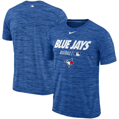 Men's Toronto Blue Jays Nike Royal Authentic Collection Velocity Team Issue Performance T-Shirt
