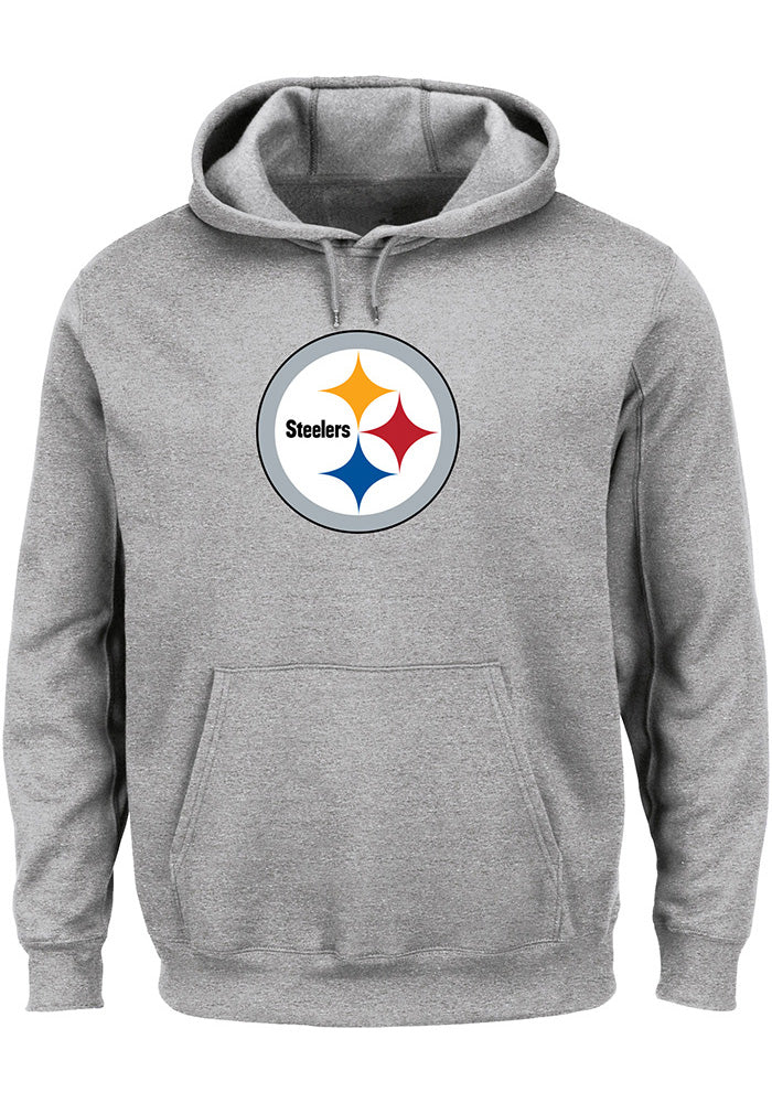 pretty nice 81f27 05f62 Pittsburgh Steelers Tek Patch Men's Hoodie