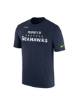 Seattle Seahawks Nike Sideline Property Of Facility T-Shirt