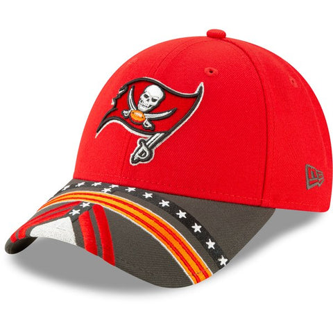Tampa Bay Buccaneers New Era 2019 NFL Draft On-Stage Official 9FORTY Adjustable - Hat – Red
