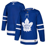 Toronto Maple Leafs adidas Blue Home Authentic Blank Jersey