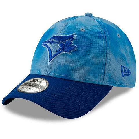 Toronto Blue Jays New Era 2019 Father's Day 9FORTY Adjustable Hat - Blue/Royal