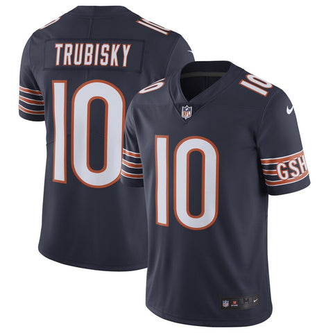 Mitchell Trubisky Chicago Bears Nike Vapor Untouchable Limited Jersey - Navy
