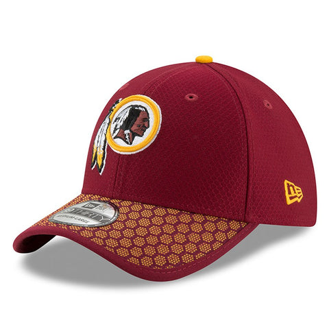 Washington Redskins New Era 2017 Sideline Official 39THIRTY Flex Hat - Burgundy