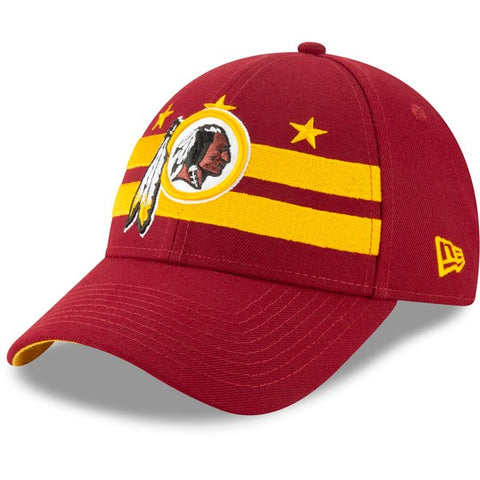 Washington Redskins New Era 2019 NFL Draft On-Stage Official 9FORTY Adjustable - Hat – Burgundy