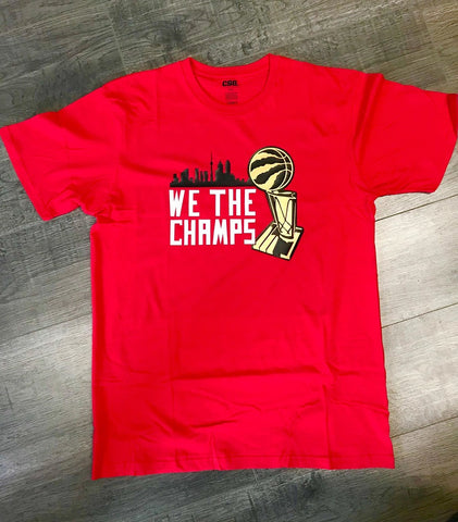 We The Champs Toronto Raptors T - Shirt