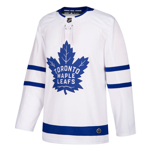Toronto Maple Leafs adidas Home Authentic Blank Jersey – White