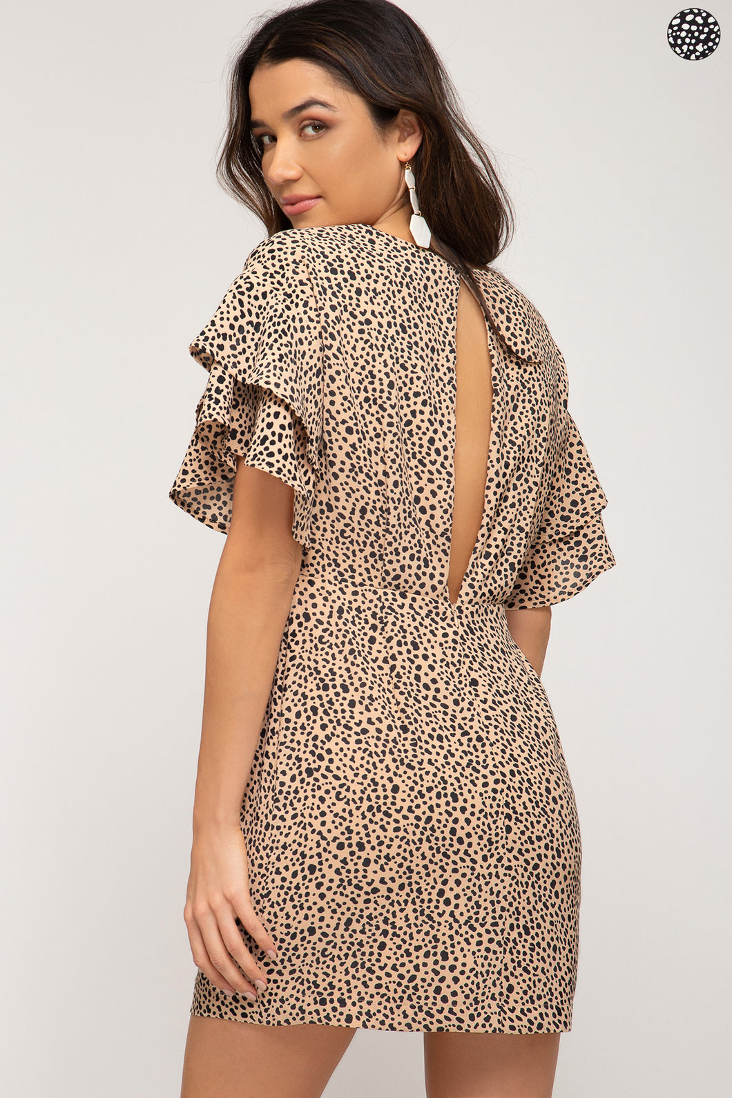 CITY CHEETAH CUB DRESS