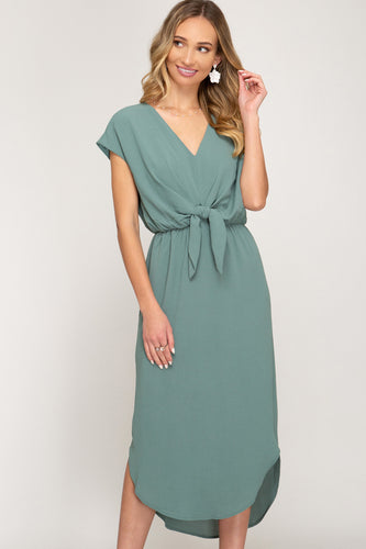 FIFIS FORGET ME KNOT DRESS