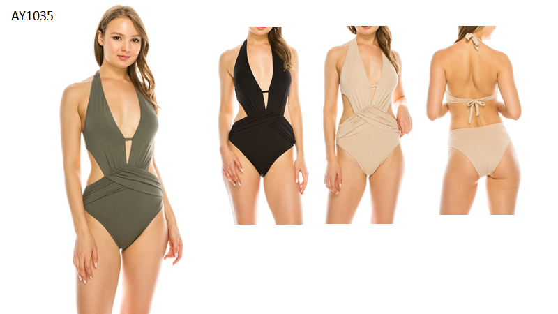 HUG ME ONE PIECE SWIMSUIT