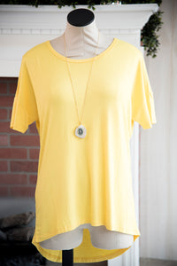The Mandy Top Yellow