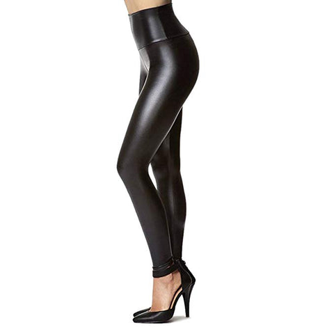 JAMBY BLACK Color Faux Leggings