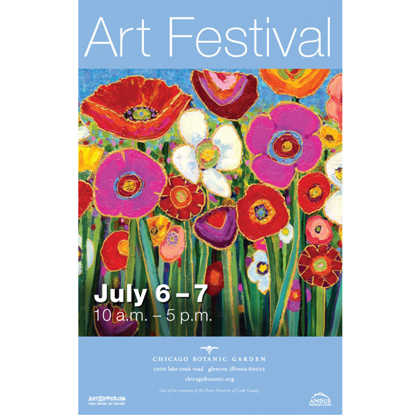 9th Annual Chicago Botanic Garden Art Show