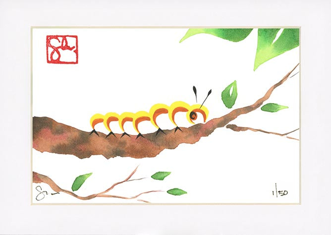 4x6 Limited Edition Print - Caterpillar Series