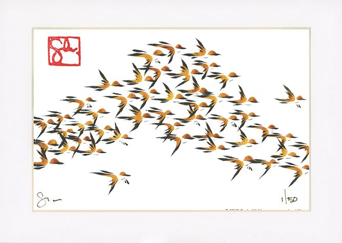 4x6 Limited Edition Print - Murmuration Series