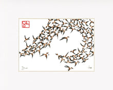 Load image into Gallery viewer, 5x7 Limited Edition Print - Murmuration Series