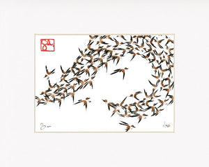 5x7 Limited Edition Print - Murmuration Series