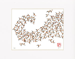 8x10 Limited Edition Print - Murmuration Series