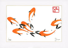 Load image into Gallery viewer, 4x6 Limited Edition Print - Koi Series