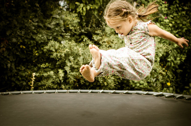 How old is too old for a trampoline?
