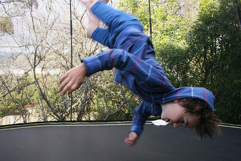 physical exercise trampoline