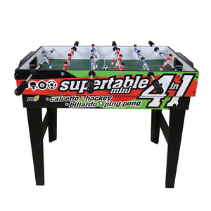 HLC Game Table 4 in -Football-Soccer-Table Tennis-Hockey-Billiards-Best Gift Ideas