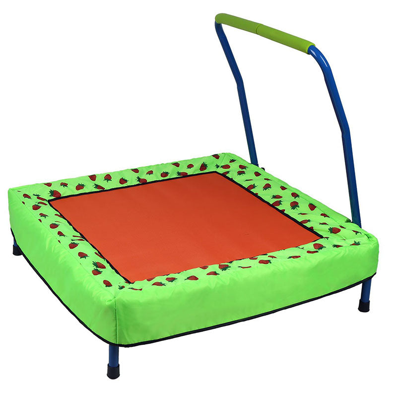 HLC Folding Junior Trampoline Outdoor Indoor Baby Toys with Handle - sportstoys