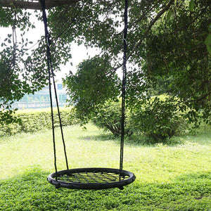 "24"" Round Hanging Seat Nest Swing Set Spider Web Swing - sportstoys"
