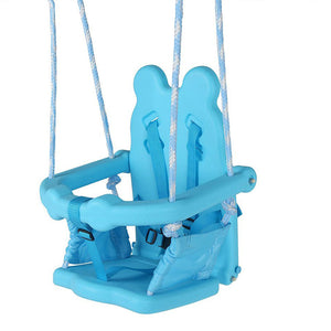 HLC-Folding Toddler Swing Kids Swing Safety Chair Set for Playground Yard Garden - sportstoys
