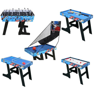 HLC - 5-in-1 Game Tables Multiple Functions Combination