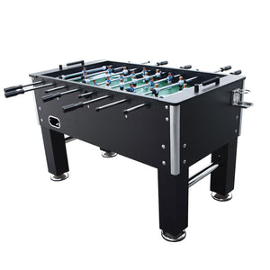 5Ft Soccer Table in Black Foosball Game