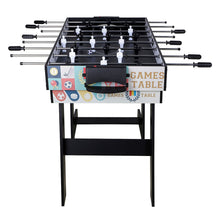 Load image into Gallery viewer, HLC 	fold up Game Table-Contractile Tabletop Game-Air powered hockey-Billiards-Table tennis-Foosball-4 different playground boards
