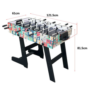 HLC - Contractile game table with 4 different playground boards