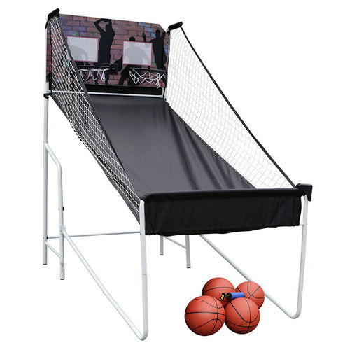 HLC - Double Player Basketball Stand Arcade Games Indoor