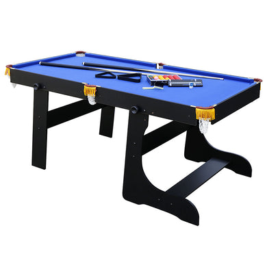 HLC - Folding Pool Ball Table in Blue