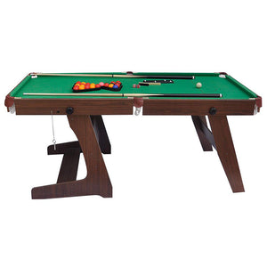 HLC - Folding Pool Ball Table in Green