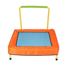 Load image into Gallery viewer, HLC mini trampoline-indoor and outdoor Folding Square Kid Trampoline