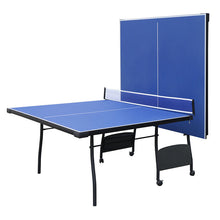 Load image into Gallery viewer, HLC - Folding Table Tennis Table with Wheels Indoor