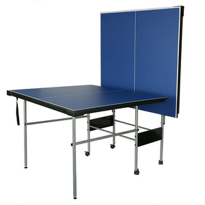 HLC - Folding Table Tennis Table with Wheels