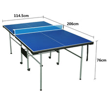 Load image into Gallery viewer, HLC - Folding Table Tennis Table with Wheels