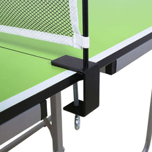 Load image into Gallery viewer, Indoor Table Tennis Ping Pong Table 2-Pieces Compact Folding Leg
