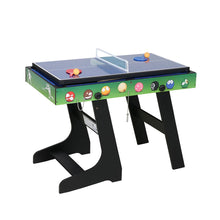 Load image into Gallery viewer, HLC Game Table-4 in 1 Green Tabletop Game-Pool Billiard-Slide Hockey-Foosball-Table Tennis