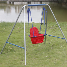 Load image into Gallery viewer, HLC Outdoor Swingset-Boys Girls-Infant Swing with High Back Seat