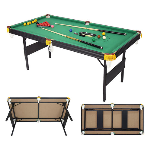 HLC - MDF Folding Pool Table Indoor